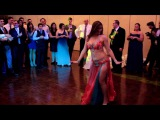 Belly Dance Show at a Wedding - Drum Solo Performance by Cassandra Fox