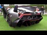 Lamborghini Veneno SOUND! Start Up + Driving On The Road!