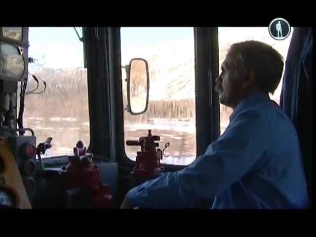 Россия из окна поезда Полярный Урал