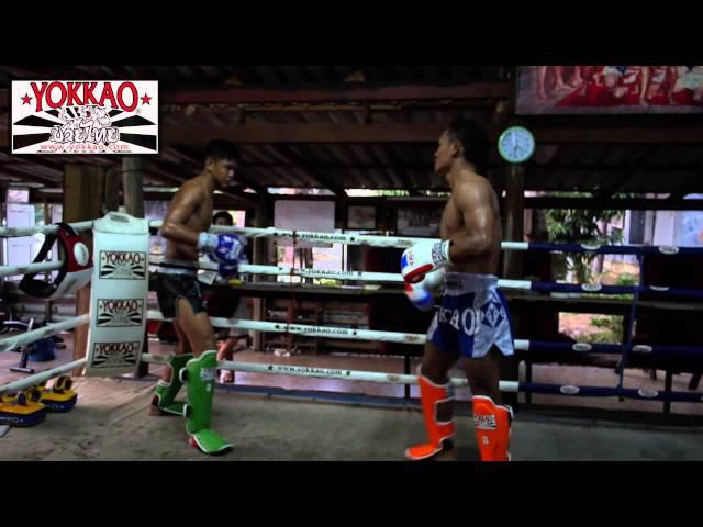 Sangmanee Sor Tienpo vs Saenchai Pk MuayThaiGym @yokkaoboxing