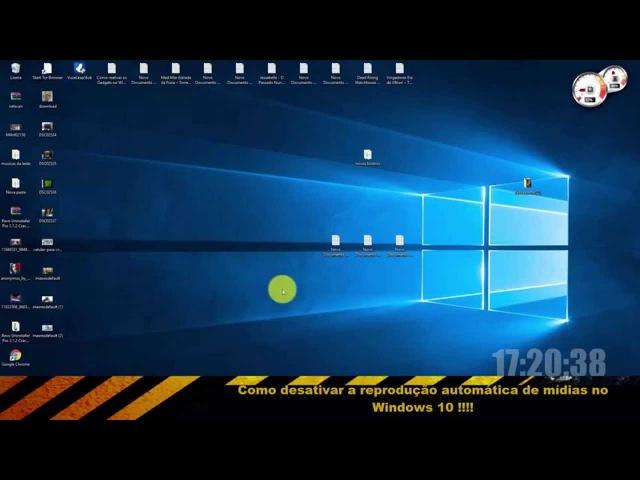 Como desativar a reprodução automática de mídias no Windows 10