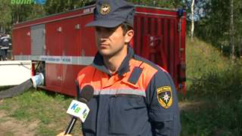 Работа Ногинского спас центра МЧС Росии в Конаковском районе подходит к концу