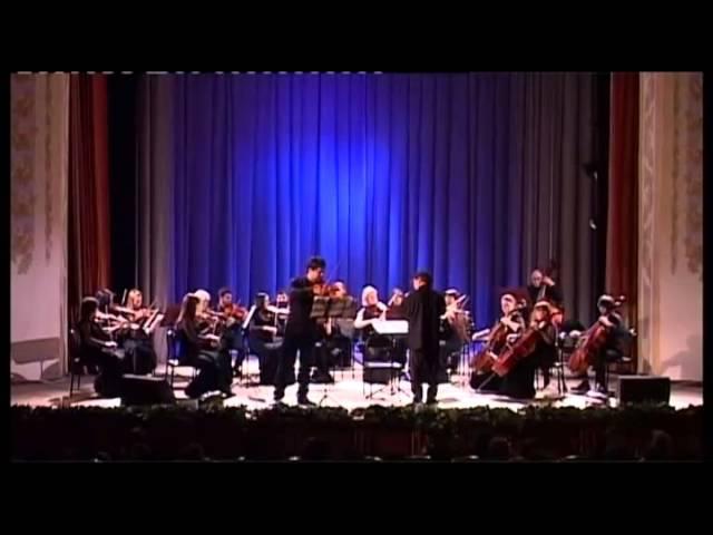 И.С.Бах «Концерт» для скрипки ля минор