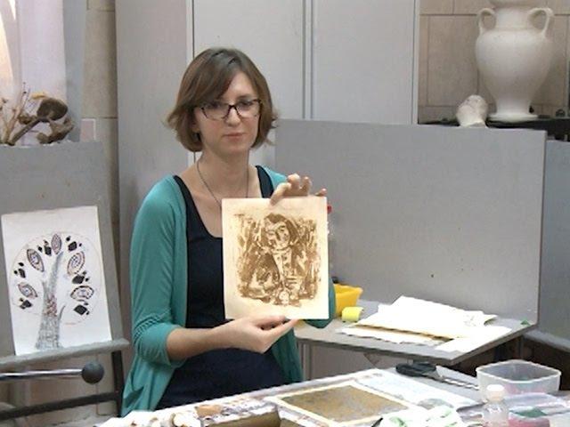 Мастер-класс по кухонной литографии дает краснодарская художница