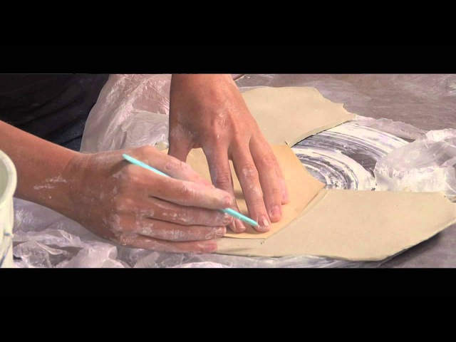 Pottery Video Using Plastic to Make Handbuilding Easier LORNA MEADEN