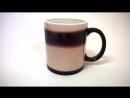 Черная чашка Хамелеон (Магическая чашка). Заварил чай - увидел изображение! Супер!