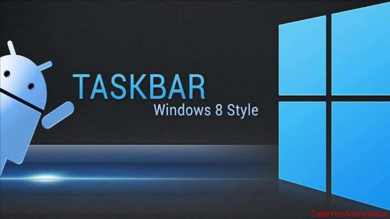 Taskbar — пусковое меню Windows для Android