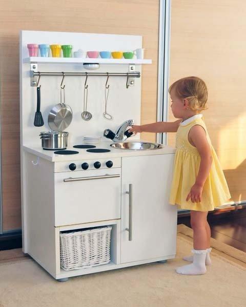 Детская кухня игрушечная своими руками