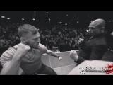 Дуэль взглядов Жозе Альдо vs Конор МакГрегор на финальной пресс-конференции UFC 194