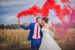 Цветной дым (факел, дымовая шашка) для фотосессий