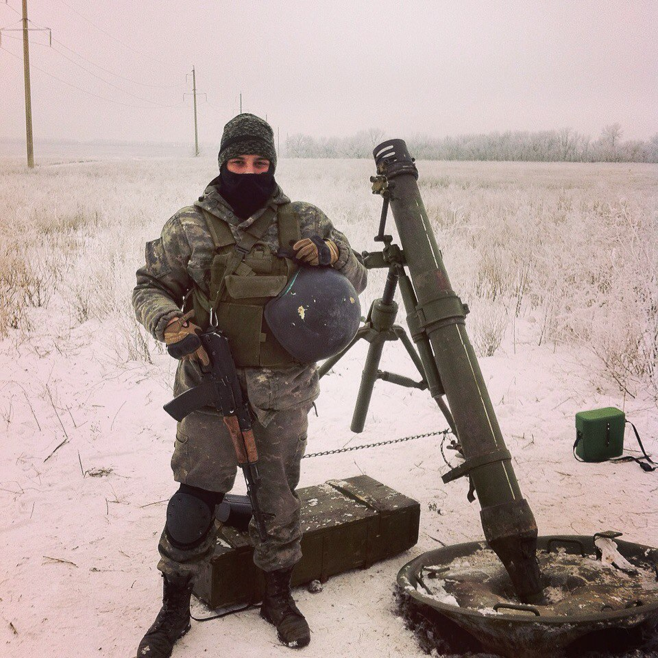 Russian 120mm Mortar : Provocations by militants mm
