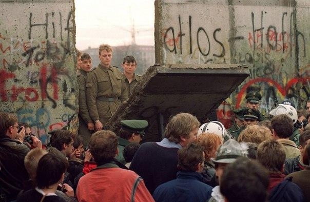 Берлинская стена, ноябрь 1989 года