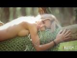 Анна Хилькевич голая  на фотосессия для журнала Maxim [720p]