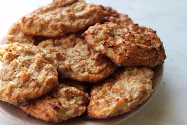 Овсяное печенье на кефире Хрустящее, полезное и очень вкусное