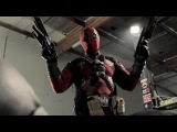 batman vs deadpool / cant die!