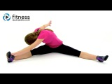 Feel Good Stretching Routine - Fitness Blender's Relaxing Cool Down Stretch Workout