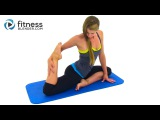 Успокаивающая растяжка Прощай, стресс - Растяжка всего тела на основе йоги. Goodbye Stress Calming Stretching Workout -- Full Body Yoga Infused Stretching Routine