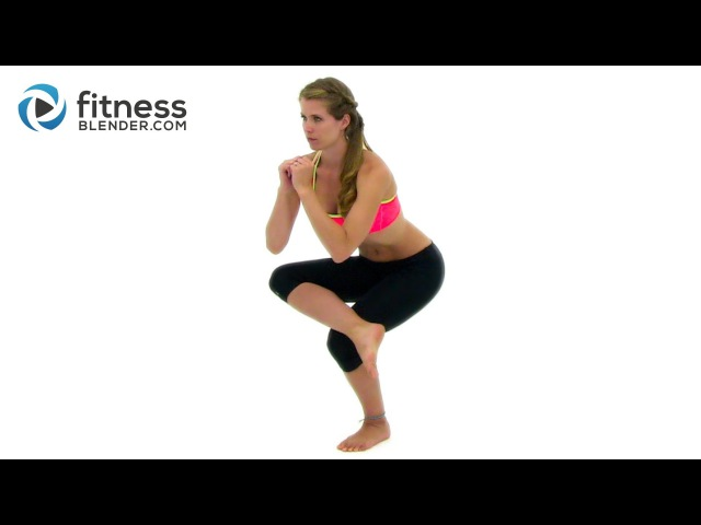 Low Impact Abs, Butt and Thighs Workout - Feel Good Total Body Sculpt and Stretch