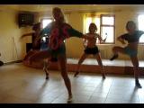 Agua Blanca. Ksenia Motion reggaeton class.Bikini Mini