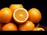 Как быстро почистить апельсин не пачкая руки