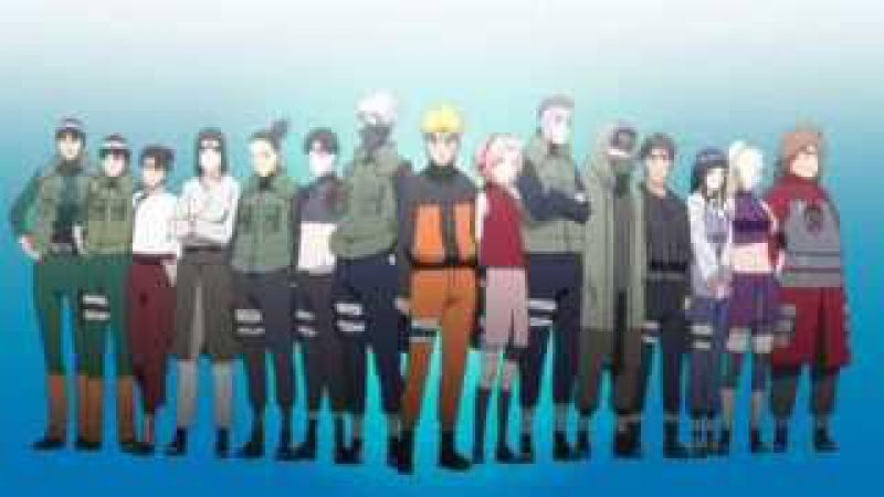 Naruto: Shippuuden (OP 5) [Hotaru no Hikari] Ikimono-Gakari RUS song cover
