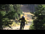 Remy Metailler attacks the Whistler Bike Park