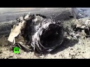 Allegedly downed MIG-23 plane in Syria