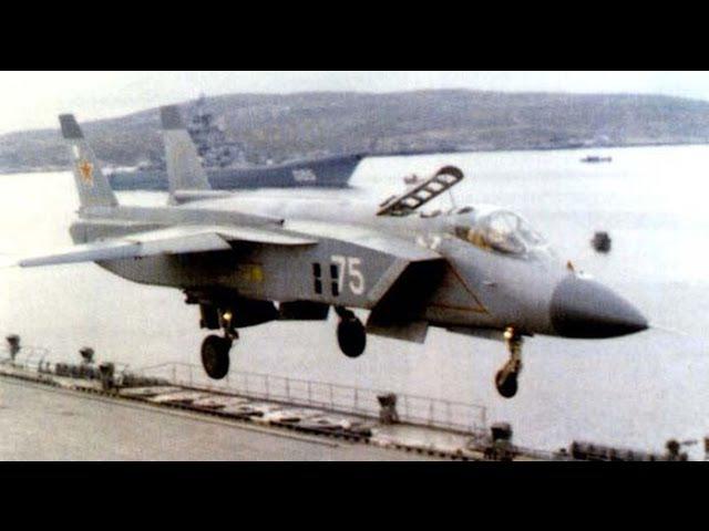 Часть 1: ЯК-141,многоцелевой сверхзвуковой всепогодный палубный самолёт вертикал ...