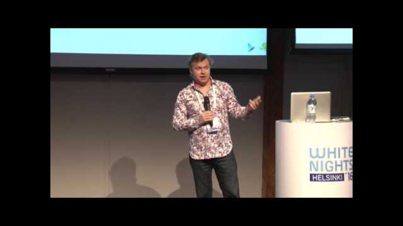 White Nights Helsinki 2016 — Dmitry Martynov and Tobias Knoke (Google) - Smarter Player Engagement