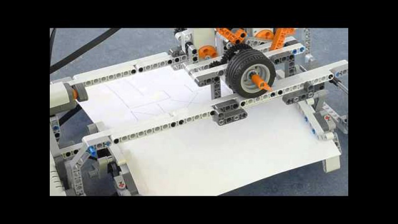 LEGO MINDSTORMS NXT 2.0 Plotter / Printer