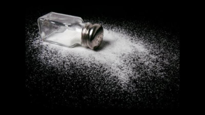 Добыча соли шахтным способом. Соль