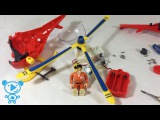 Fireman Sam Helicopter Toys Teardown Video for Children Kids