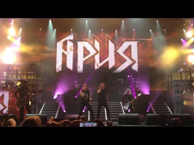 Ария feat. Кипелов и др. — Герой Асфальта @ Stadium Live, 28.11.2015