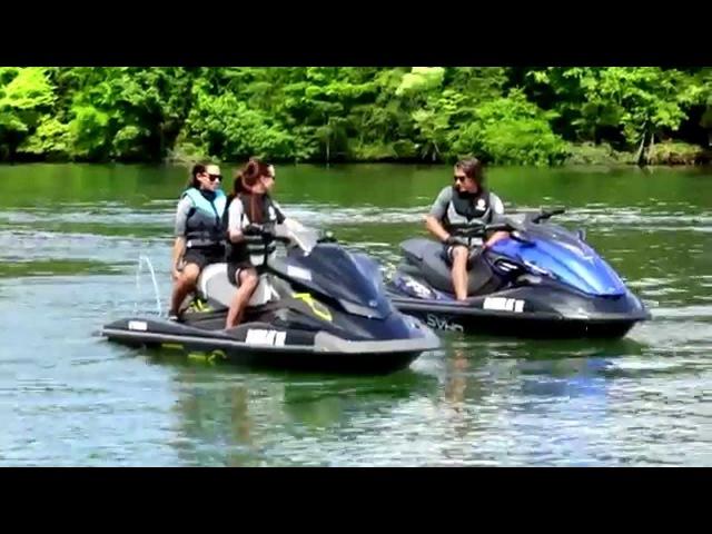 Гидроциклы Yamaha VX c технологией RiDE