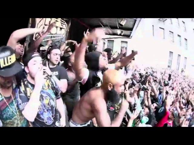 A$AP Mob x The Flatbush Zombies performing