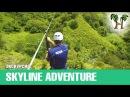 СКАЙЛАЙН НА ПХУКЕТЕ, тарзанка, зип лайн, полет гиббона | SKYLINE ADVENTURE at Phuket