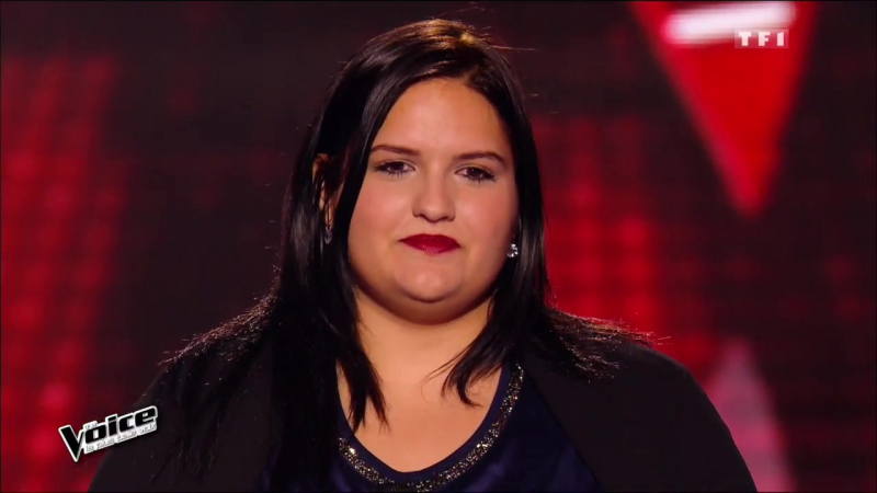 2016.03.12 Blind Audition-7 : Francesca ≪ Si tu m'aimes ≫ (Lara Fabian)