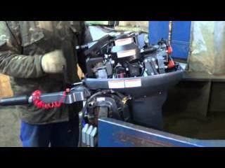 Обзор, первый пуск лодочного мотора Yamaha 15FMHS