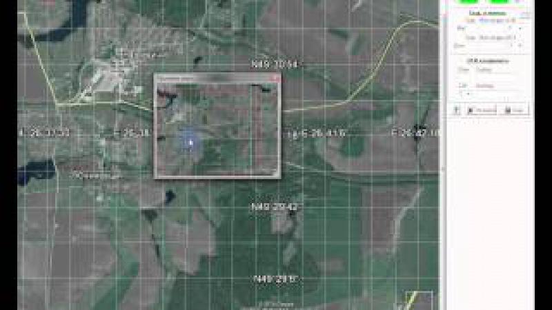 Привязка карт из Google Earth (Планета Змеля) в OziExplorer, растровые карты.