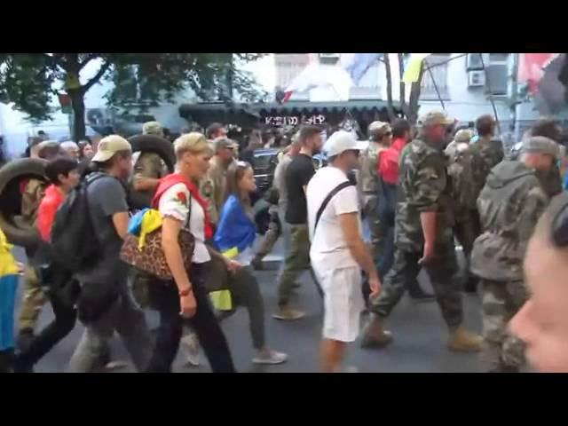 Зигующие правосеки на Украине нет фашизма