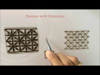 learn how to draw seeds of life design in mehendi henna