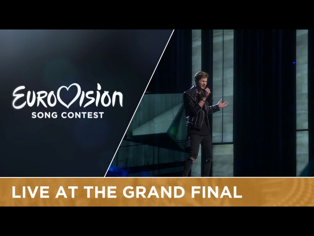 LIVE Justs Heartbeat Latvia at the Grand Final of the 2016 Eurovision Song Contest