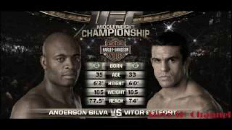 Best knockout Anderson Silva Anderson Silva vs Vitor Belfort