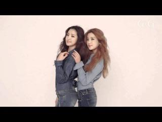 [BTS] A PINK (ChoRong × NaEun) - TOMMY HILFIGER DENIM × CECI MAGAZINE [16O216]