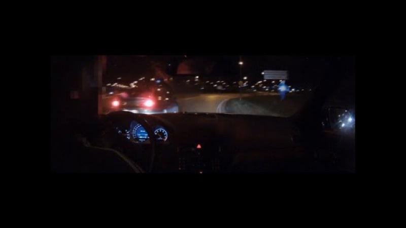 Безумный мерин уходит от полицейских / Crazy pursuit [C63 AMG]