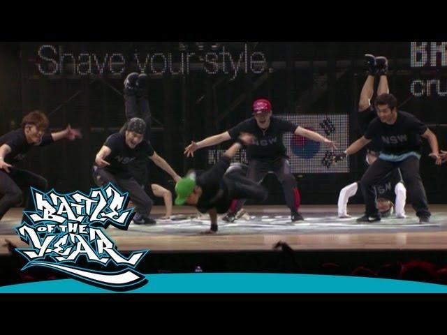 BOTY 2011 - SHOWCASE - JINJO CREW (KOREA) [OFFICIAL HD VERSION BOTY TV]
