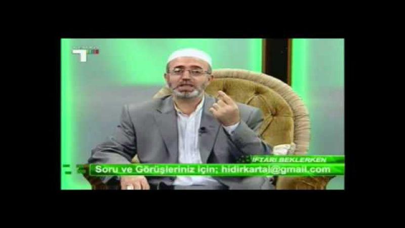 İFTARI BEKLERKEN HIDIR KARTAL HOCA 7