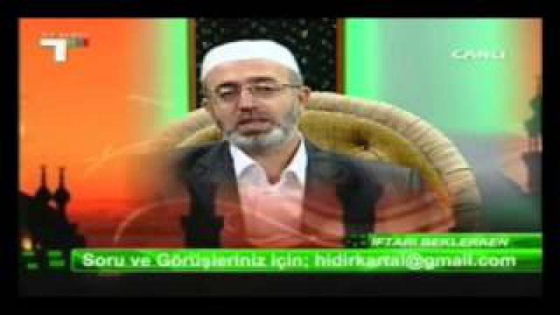 İFTARI BEKLERKEN HIDIR KARTAL HOCA 8
