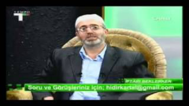 İFTARI BEKLERKEN HIDIR KARTAL HOCA 13