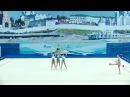 команда г.Санкт-Петербурга - 2 скакалки 3 мяча(финалы ОВ)